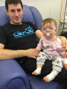 dad and daughter in hospital