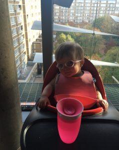 little girl at moorfields house