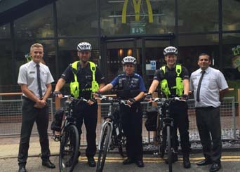 PCSO_and_McDonalds_Bike_Oxford